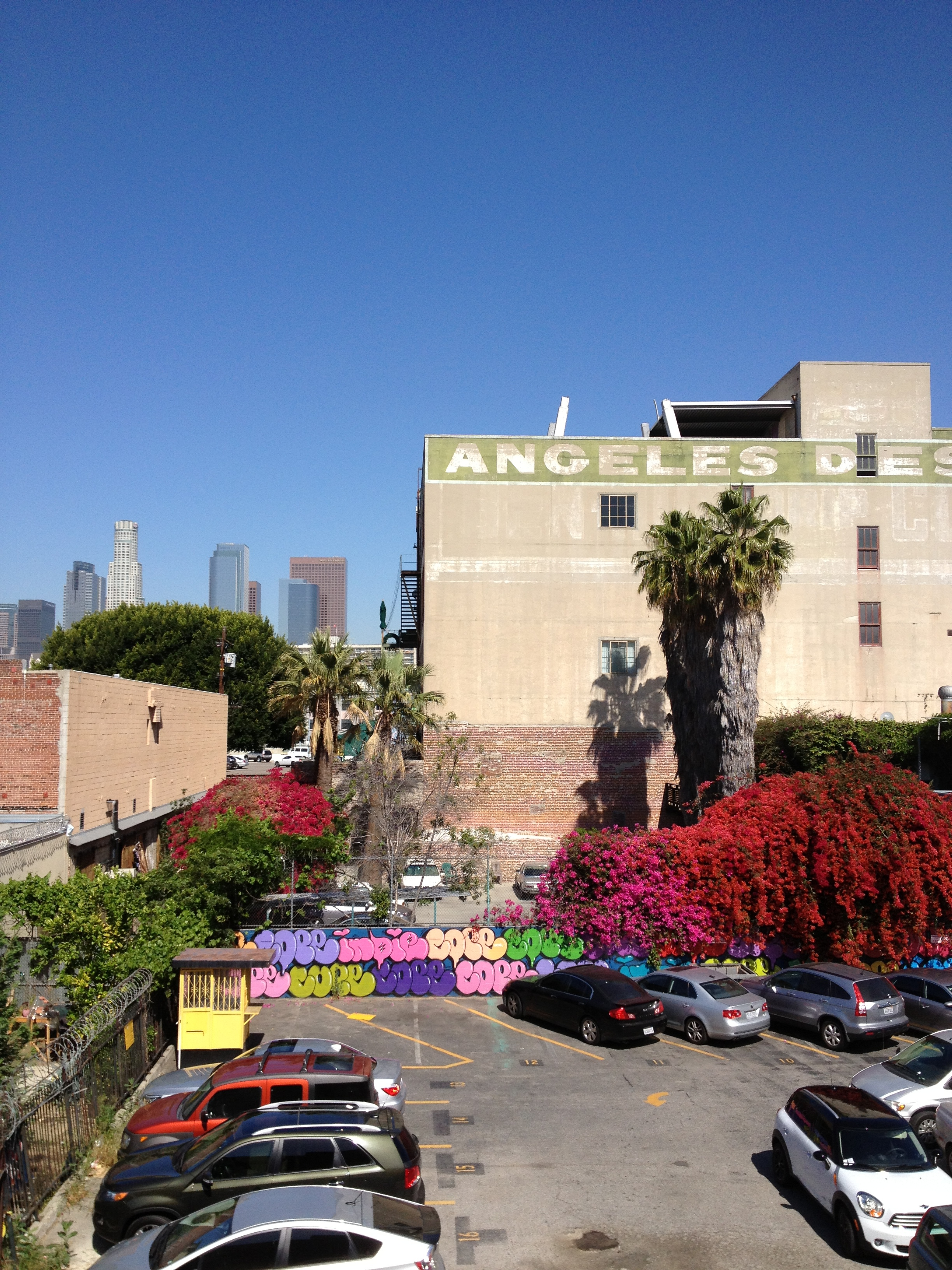 Beautiful Downtown LA Arts District.