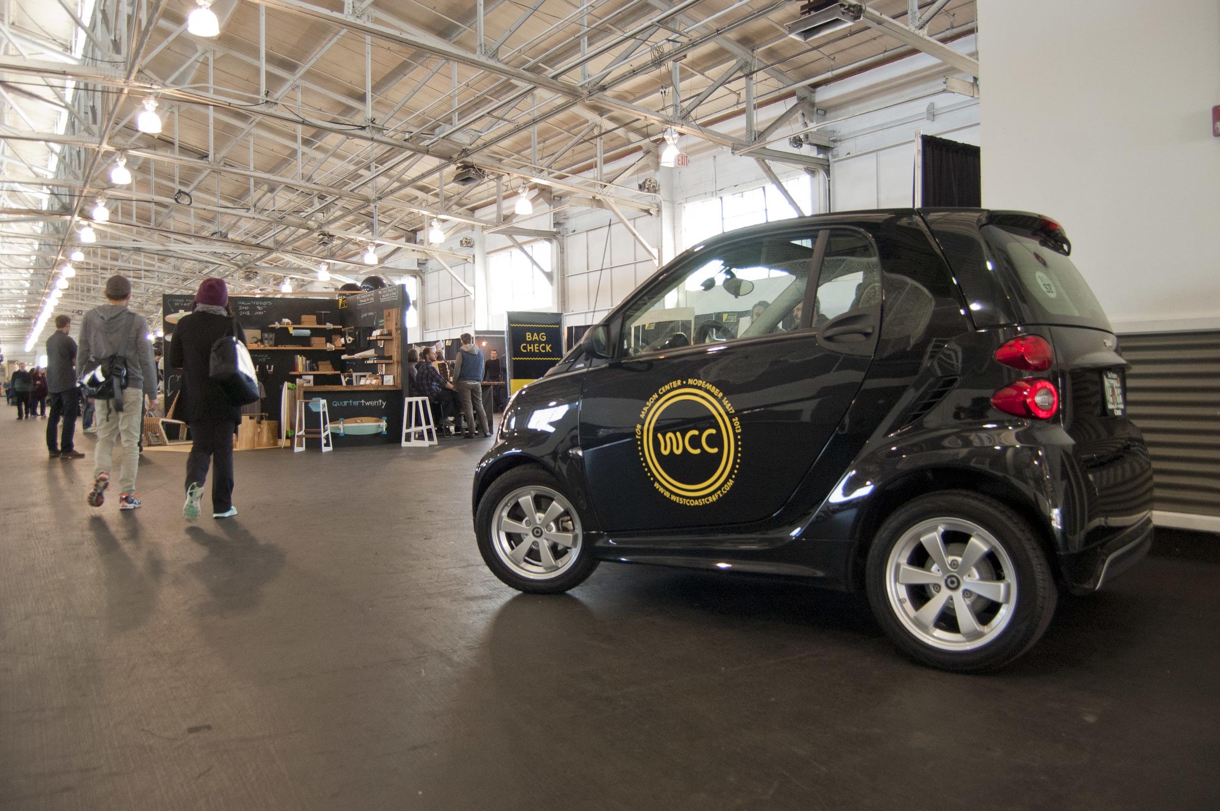Smart Car test drive at WCC.