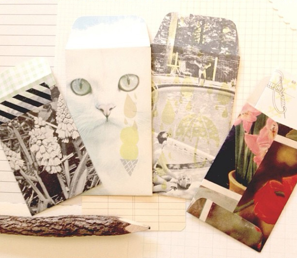 Wanna make cute envelopes, gift tags and fortune cookies with me?