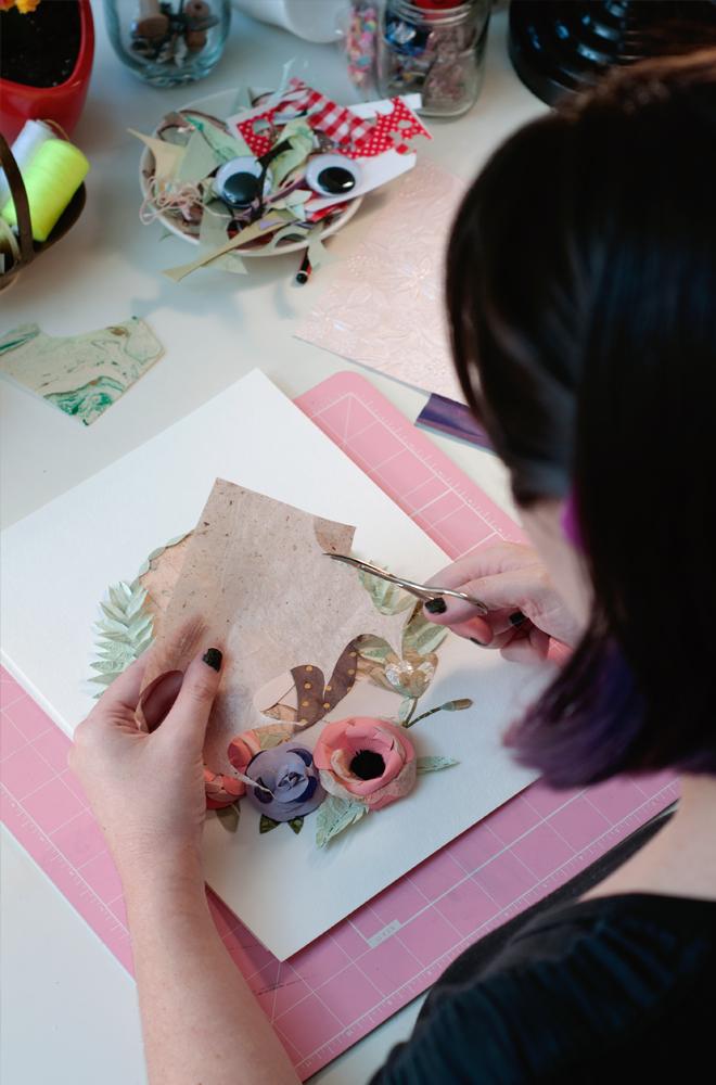 Tara Galuska Paper Illustration Pretty Secrets Zine