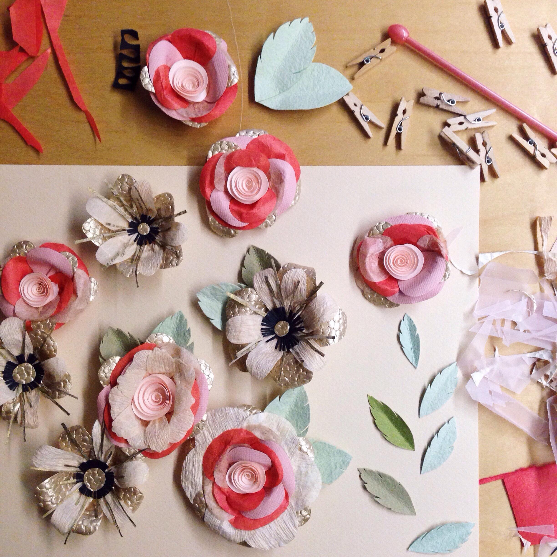 Tara Galuskas Paper Flowers