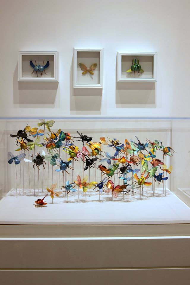 The Insect Collective! You can hear from one half of The Insect Collective in this  Hello Wonderful interview here .