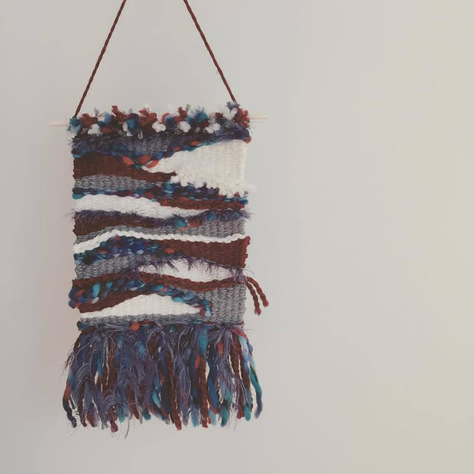 I am just getting in to weaving -- this is my 3rd weaving EVER!