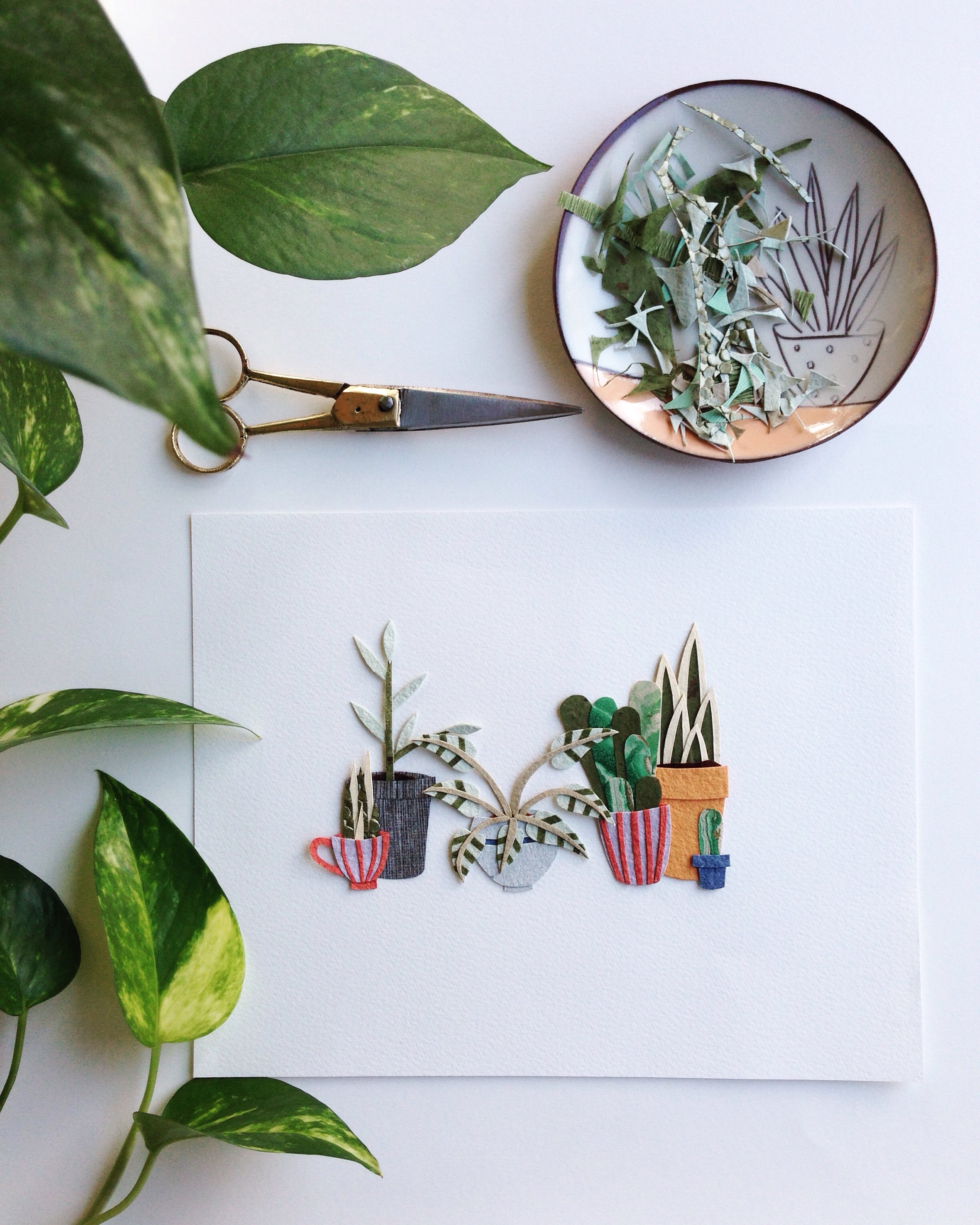 Want to make paper plants with me? Sign up  here !