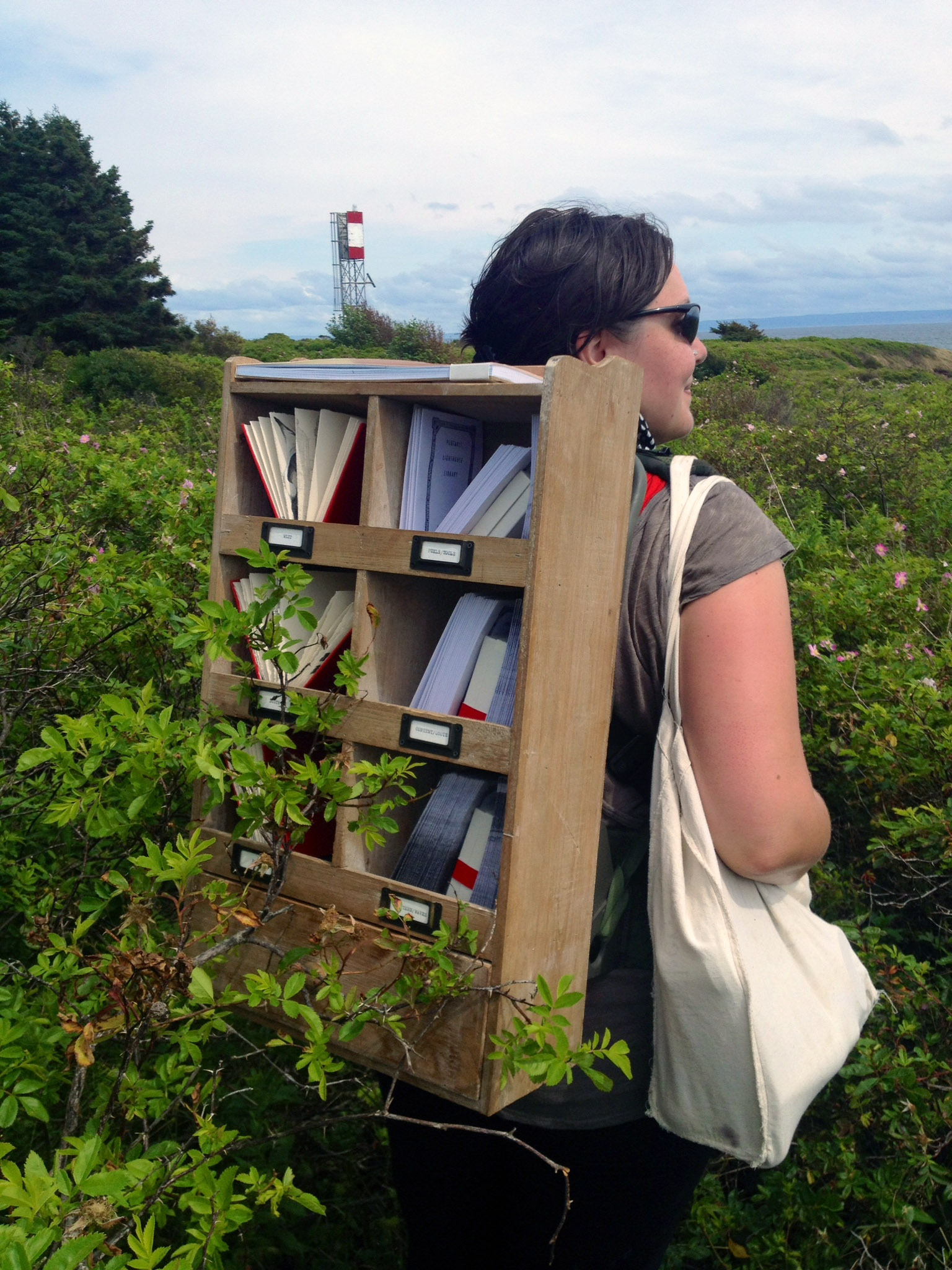 Aimée Henny Brown on the  Candian Pilgrimmages Residency