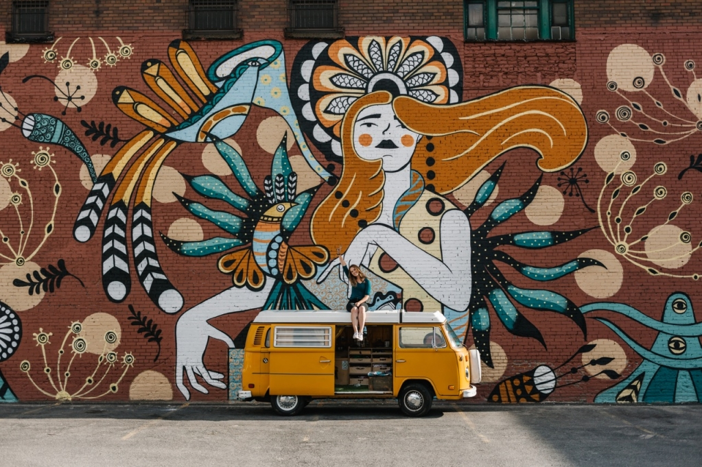 Ola Volo Mural Artist and Illustrator
