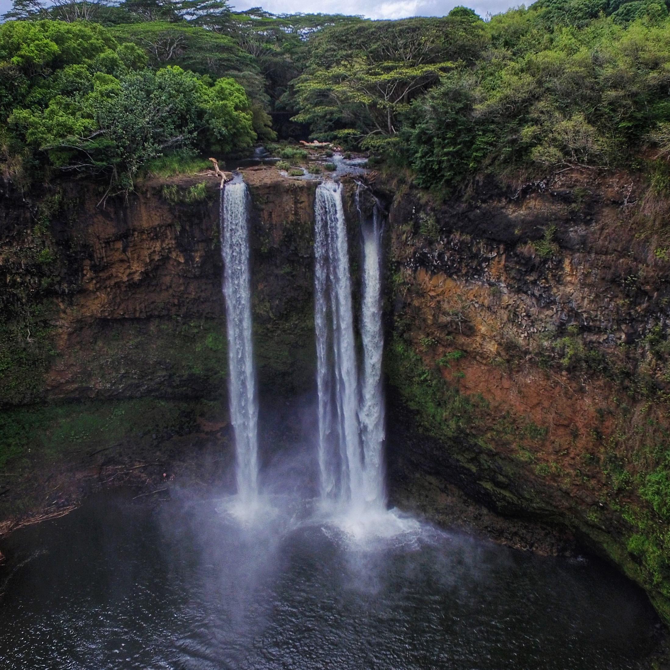 Wailua Falls, Kauai, 2015