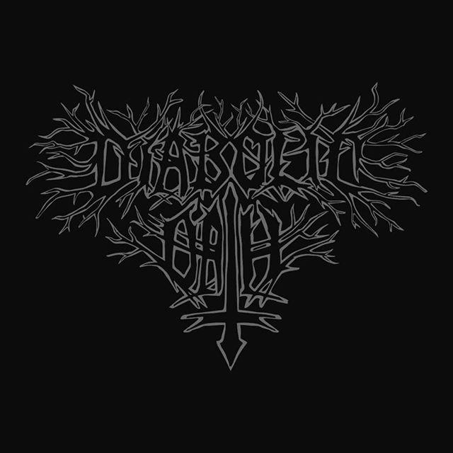 logo for diabolic oath #diabolicoath