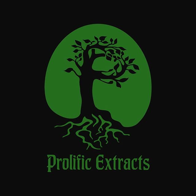 another tree logo design for prolific extracts and prolific organics