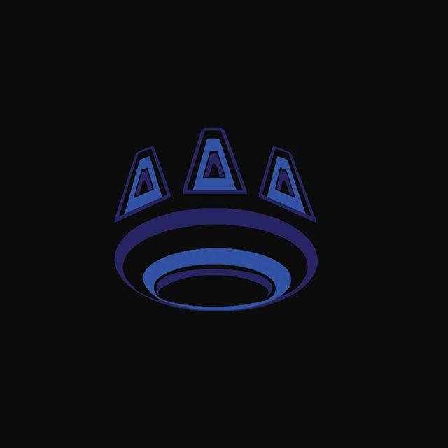 paw print logo for josh vineyard @kidglass #spacepaw #pawprint #ufo