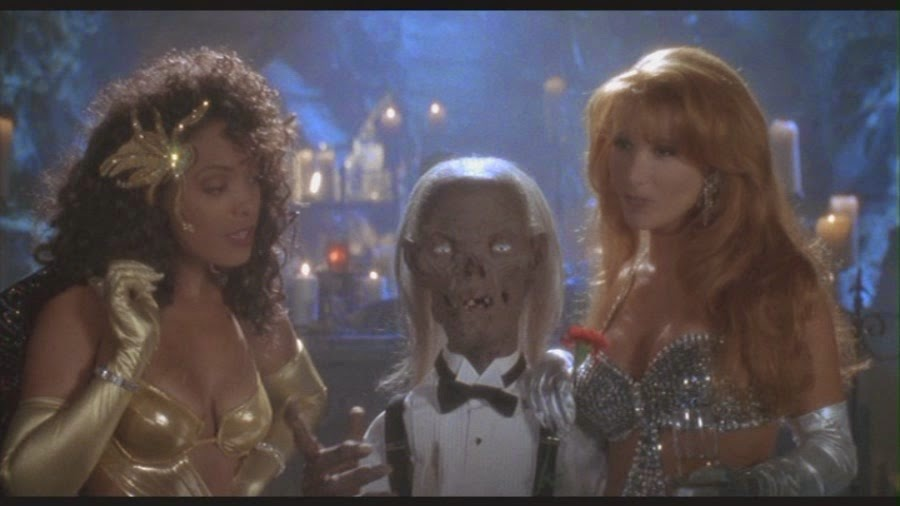 Man I love practical effects. And the CryptKeeper.