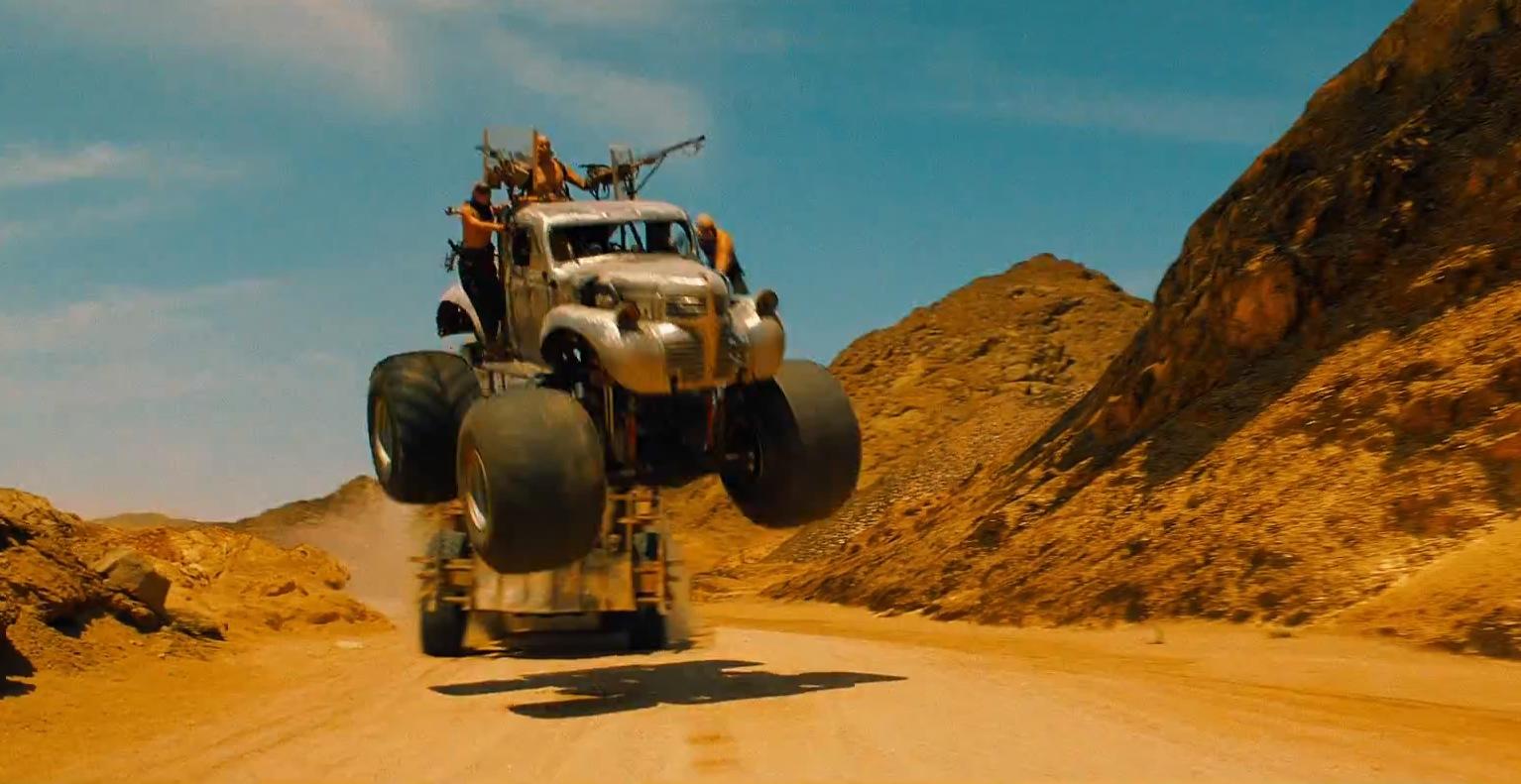 Cars! Stunts! Action!
