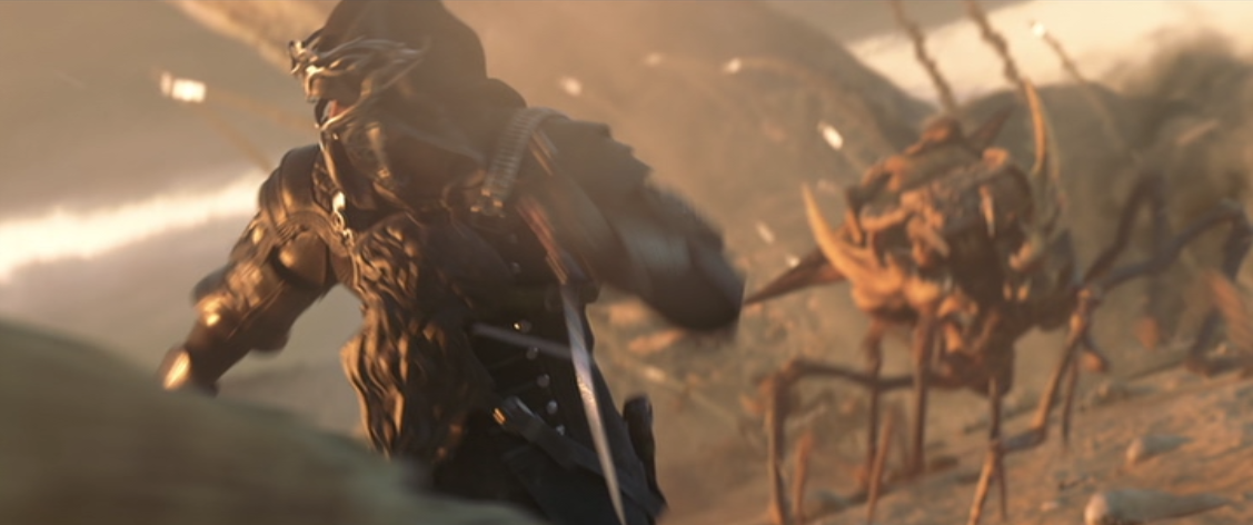 I'm getting Starship Troopers flashback, and I'm fine with that.