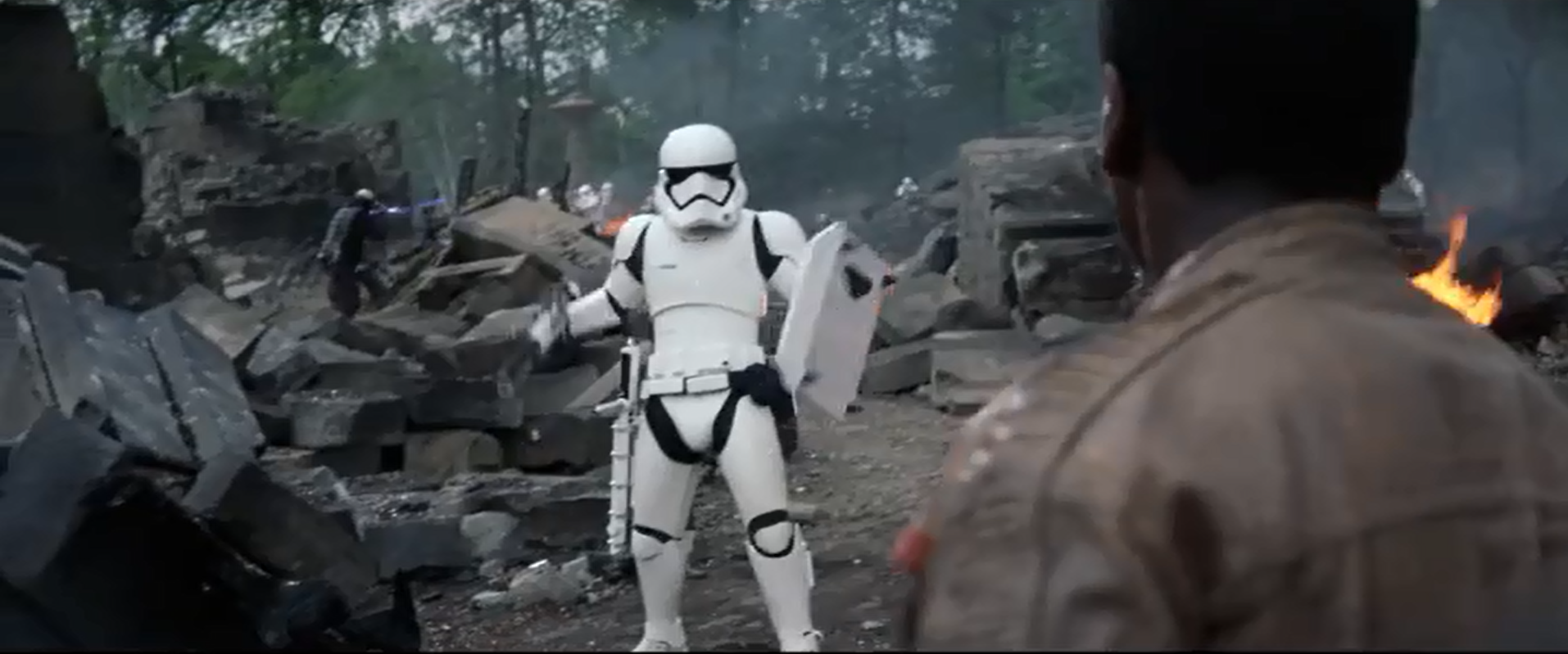 Probably still my favorite Trooper, shame he tosses that shield though.