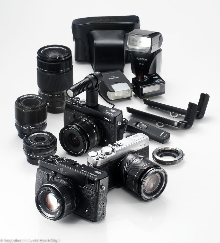 Das kompakte und leistungsstarke Fujifilm X-System (Bild: Fujifilm)