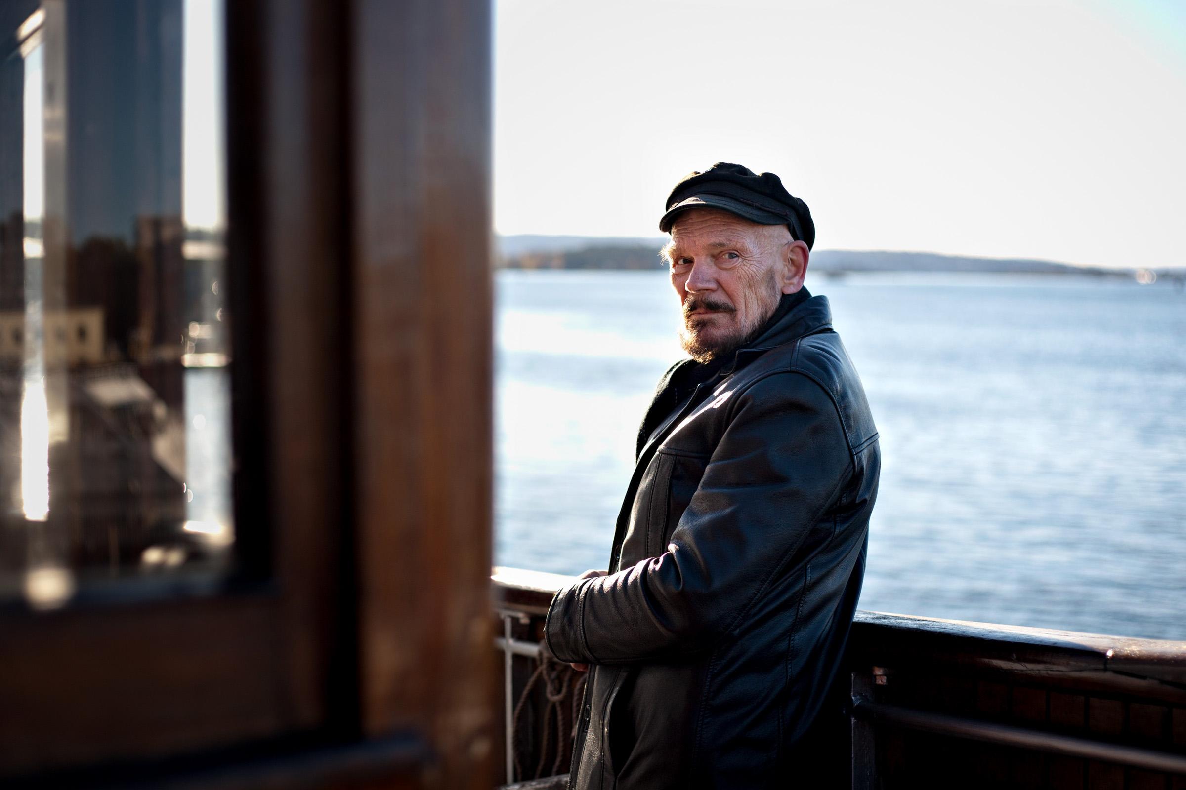Terje Enger, a retired Norwegian sailor.