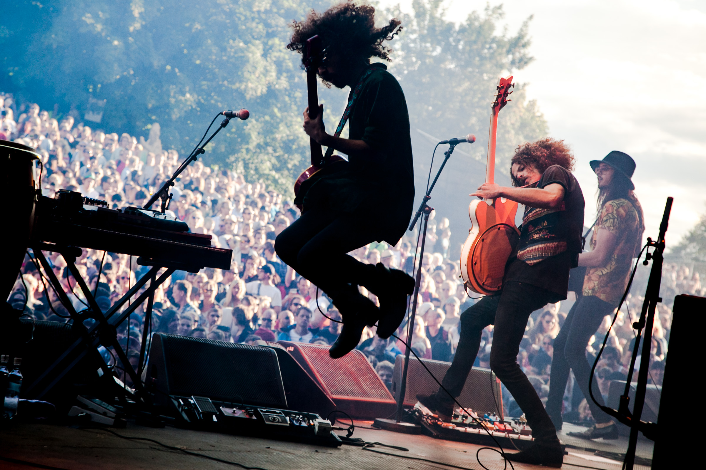 Wolfmother at Slottsfjell 2012.