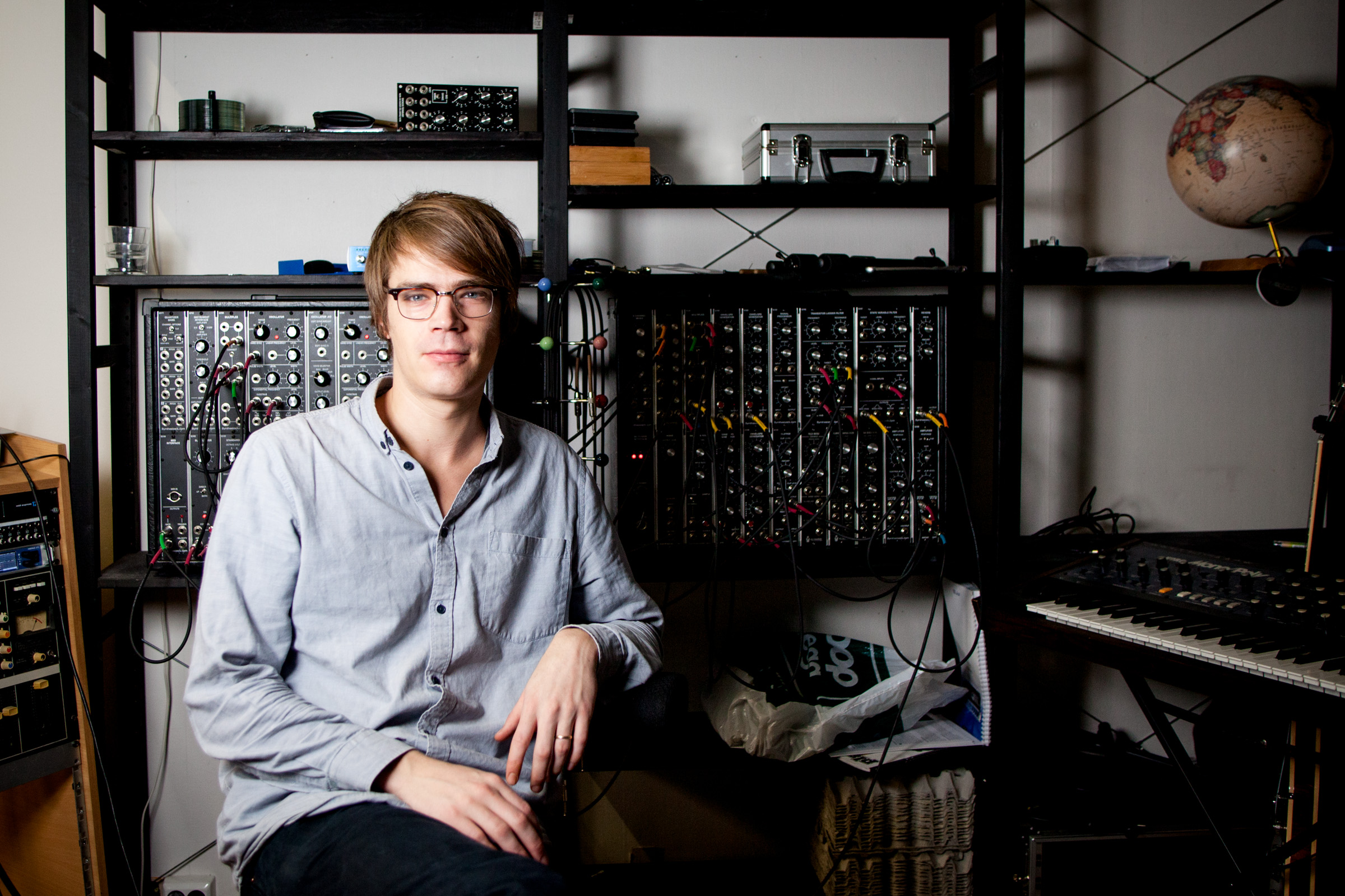 Andre Bratten, an electronica musician from Norway.