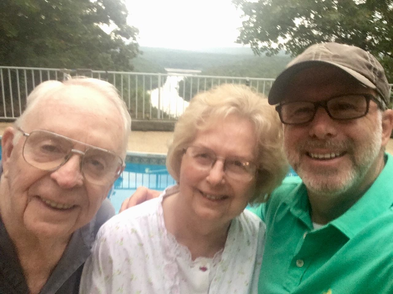 Dad turned 90 in April!  Enjoyed a great visit with Dad and Ernie in Arkansas.