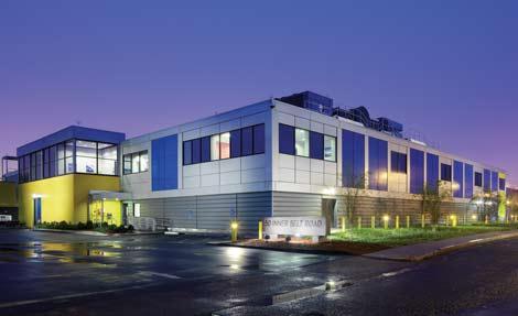 Internap's data center in Boston (picture courtesy of data center knowledge