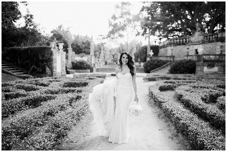 Miami wedding vizcaya gardens