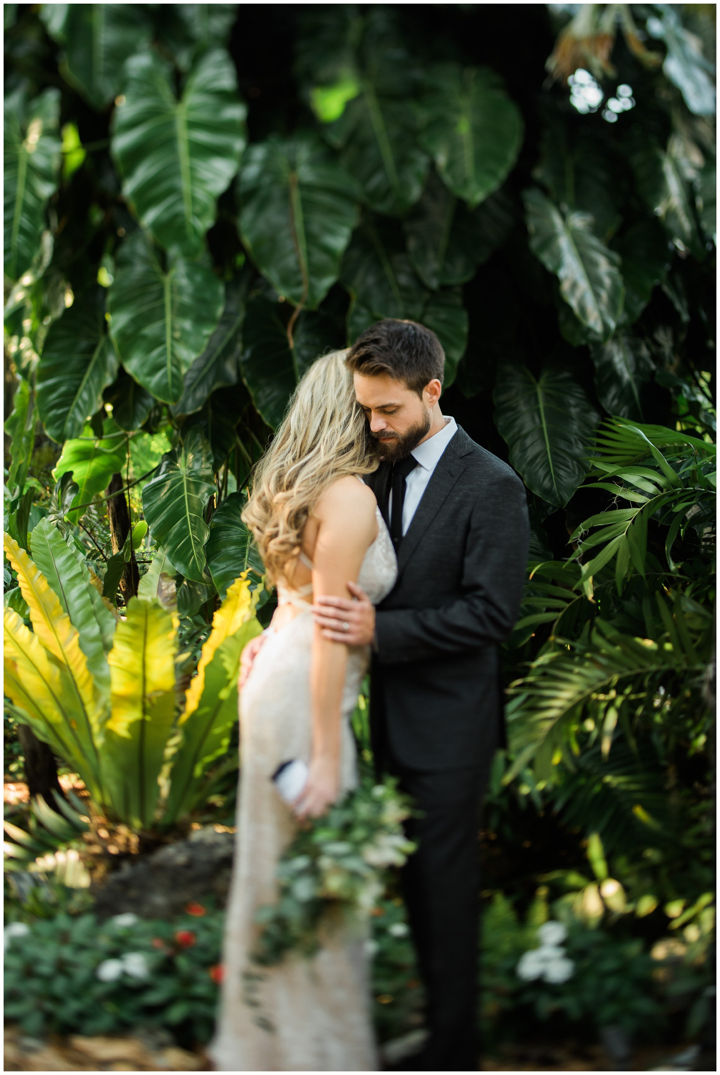 Marie Selby Gardens Wedding