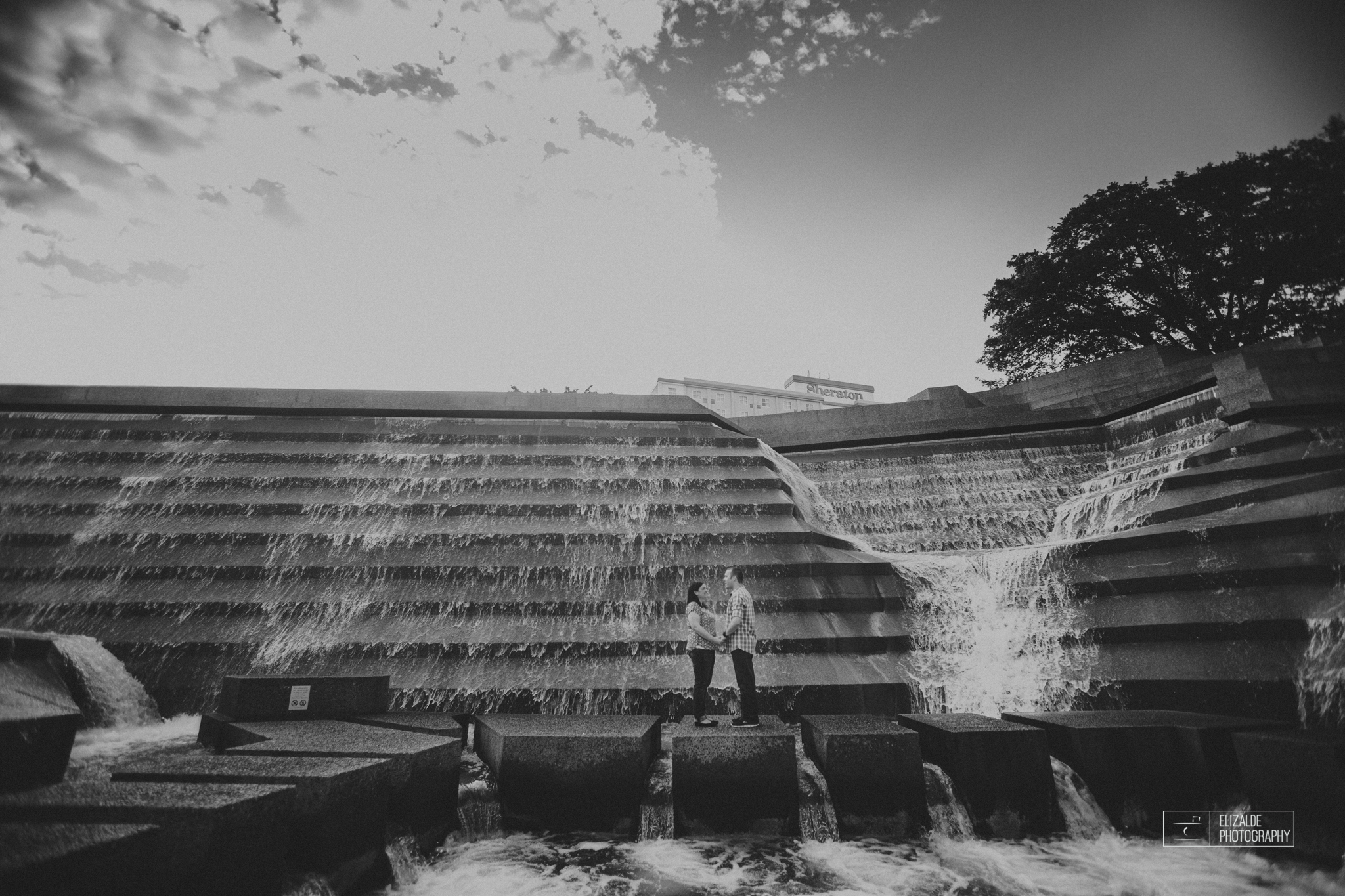 Engagement session_Theresa and Darren_DFW photographer_Elizalde Photographer_Water Garden Fort Worth1.jpg