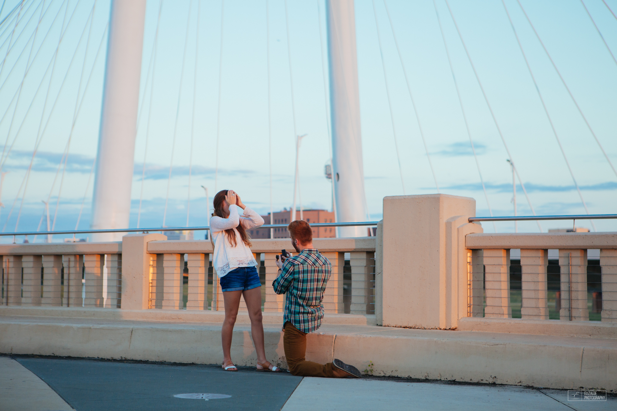 Proposal_DFW Wedding Photographer_Dallas Photographer_Elizalde Photography_margaret hunt hill bridge (2 of 21).jpg