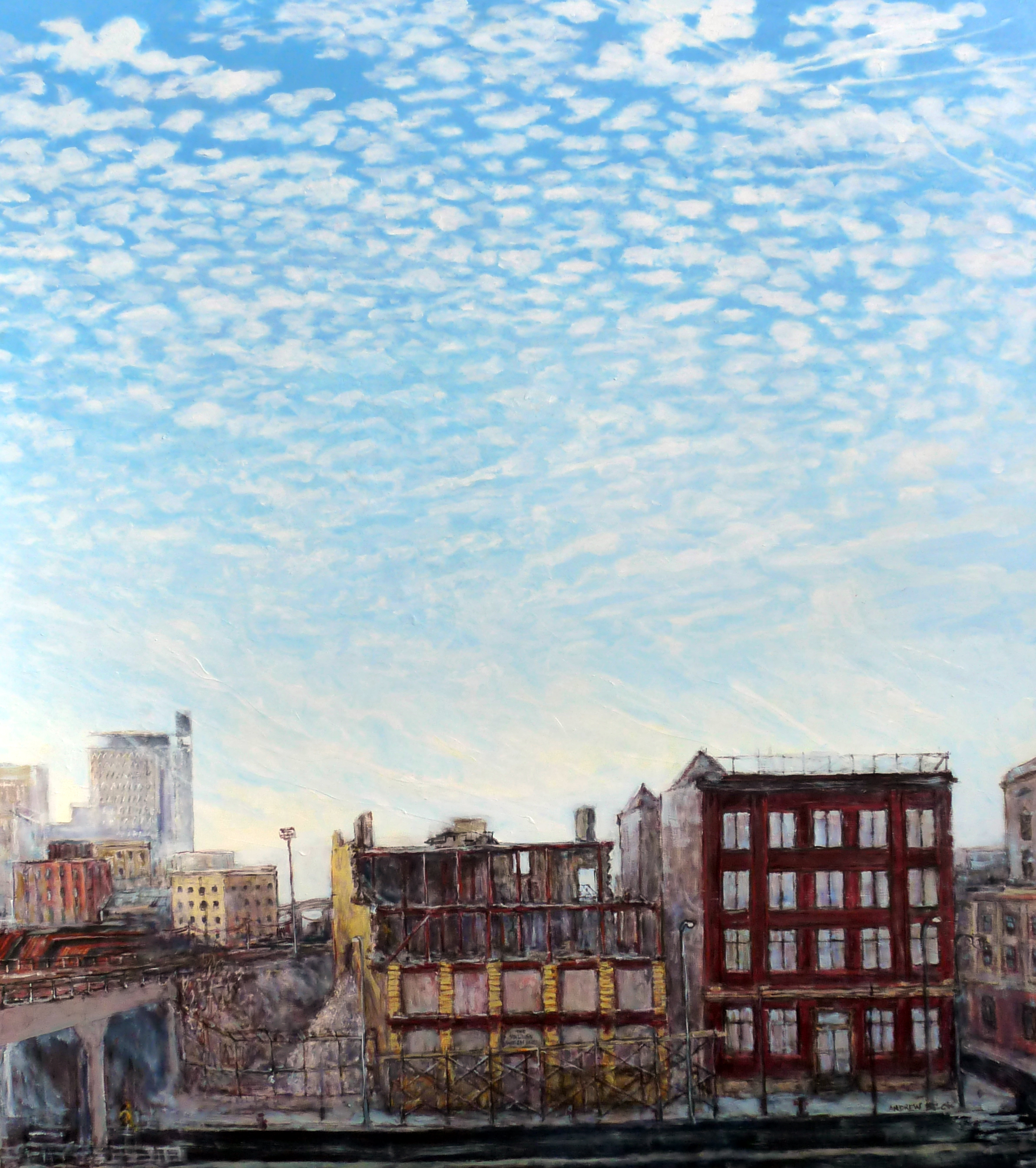 Acrylic on Canvas, 48 x 42, 2012
