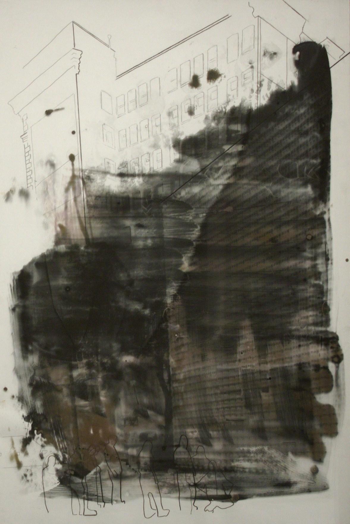 AM-007, Bricklayers, Photograph on Cotton Rag (Framed).jpg