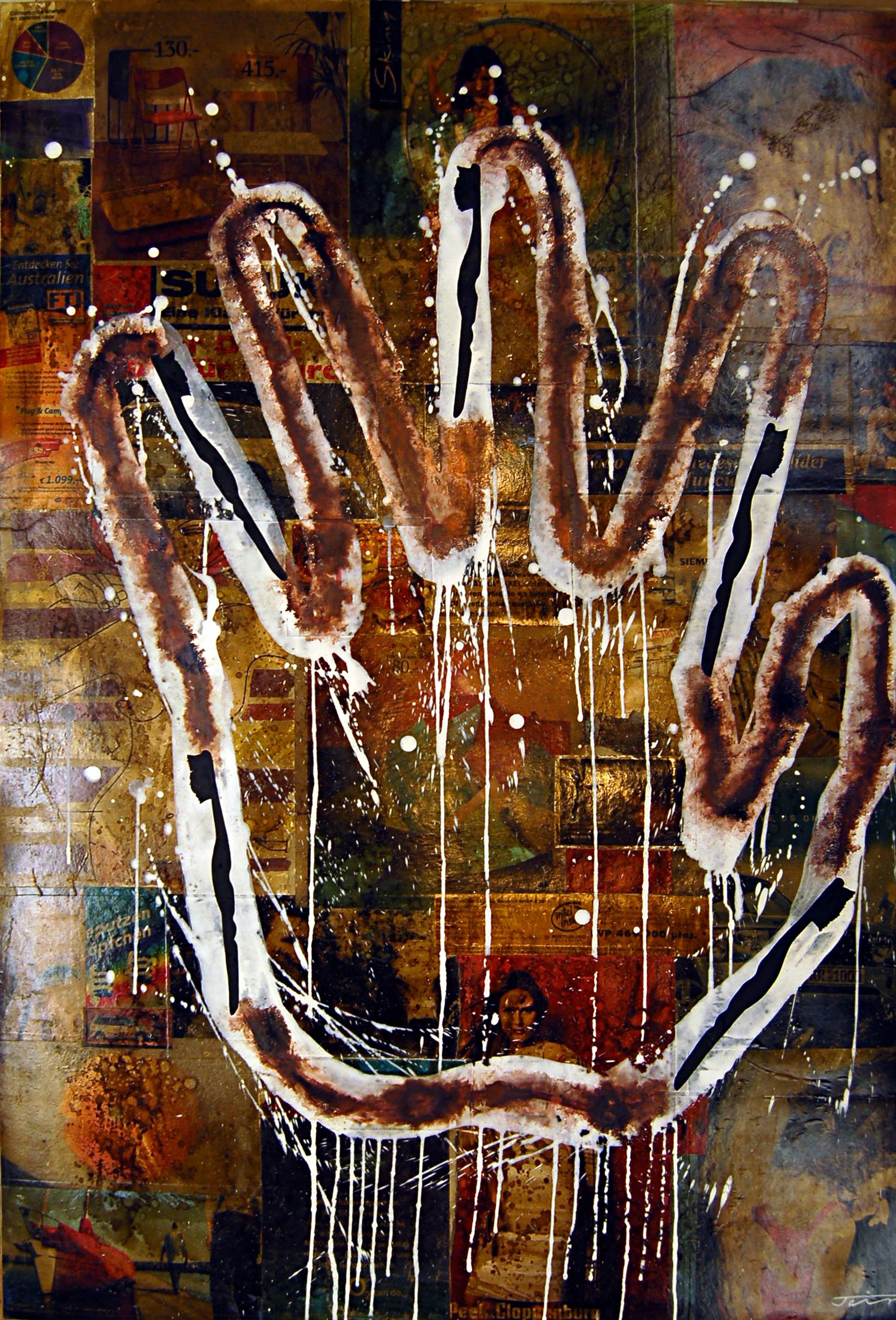 De la Series-Intervenciones #3 (Hand)