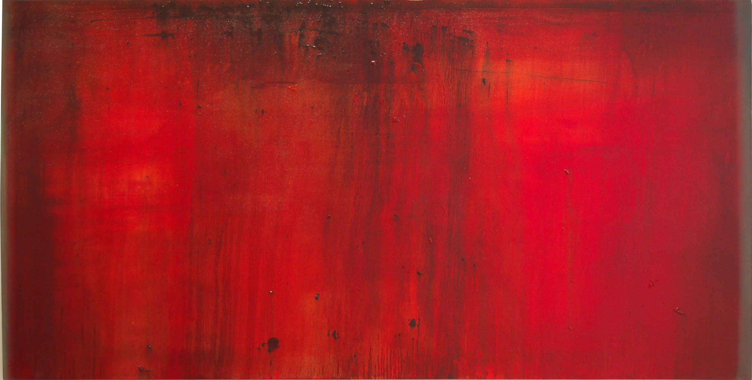 CW-017, Politics of Colour #5, Oil on Canvas, 6' x 3',SOLD
