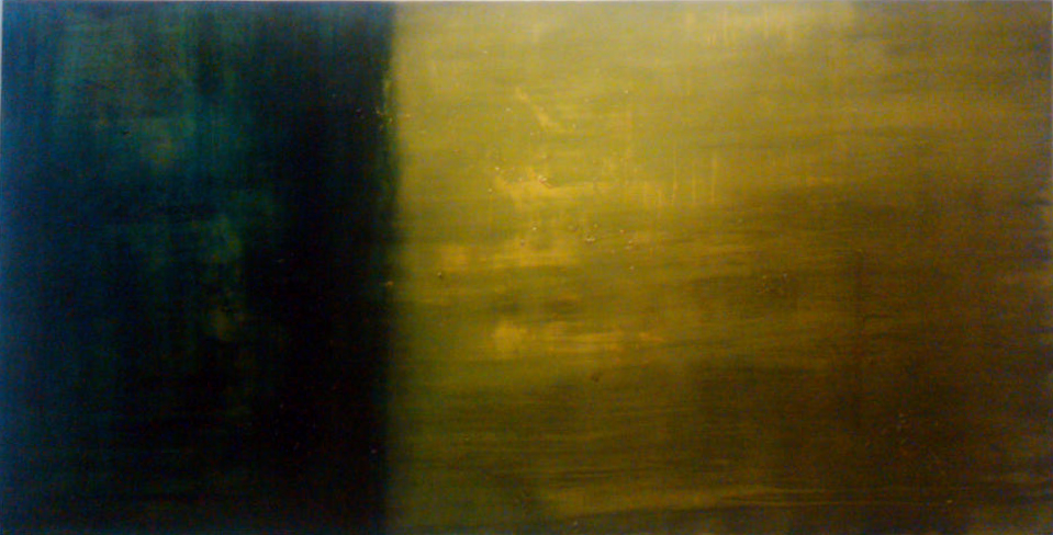 1319, Oil on Canvas, 2012, 8' x 4'