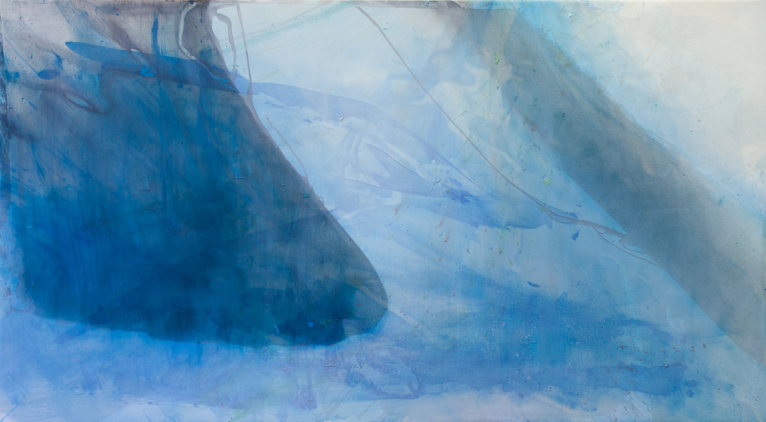 "1113, Oil on Canvas, 94"" x 59"", 2013"