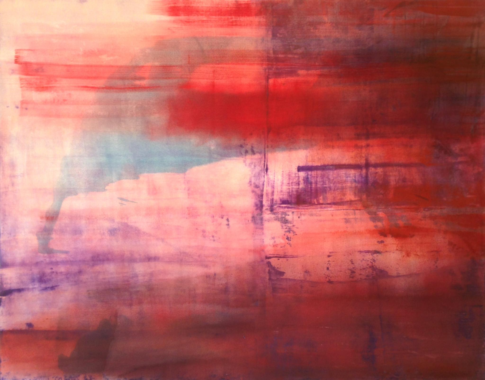 "1446, oil and acrylic on canvas, 48"" x 60"", $5,000"