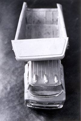 "Dump Truck, Foul Play Series, Gelatin, Silver Print, 2002,18"" x 24"""