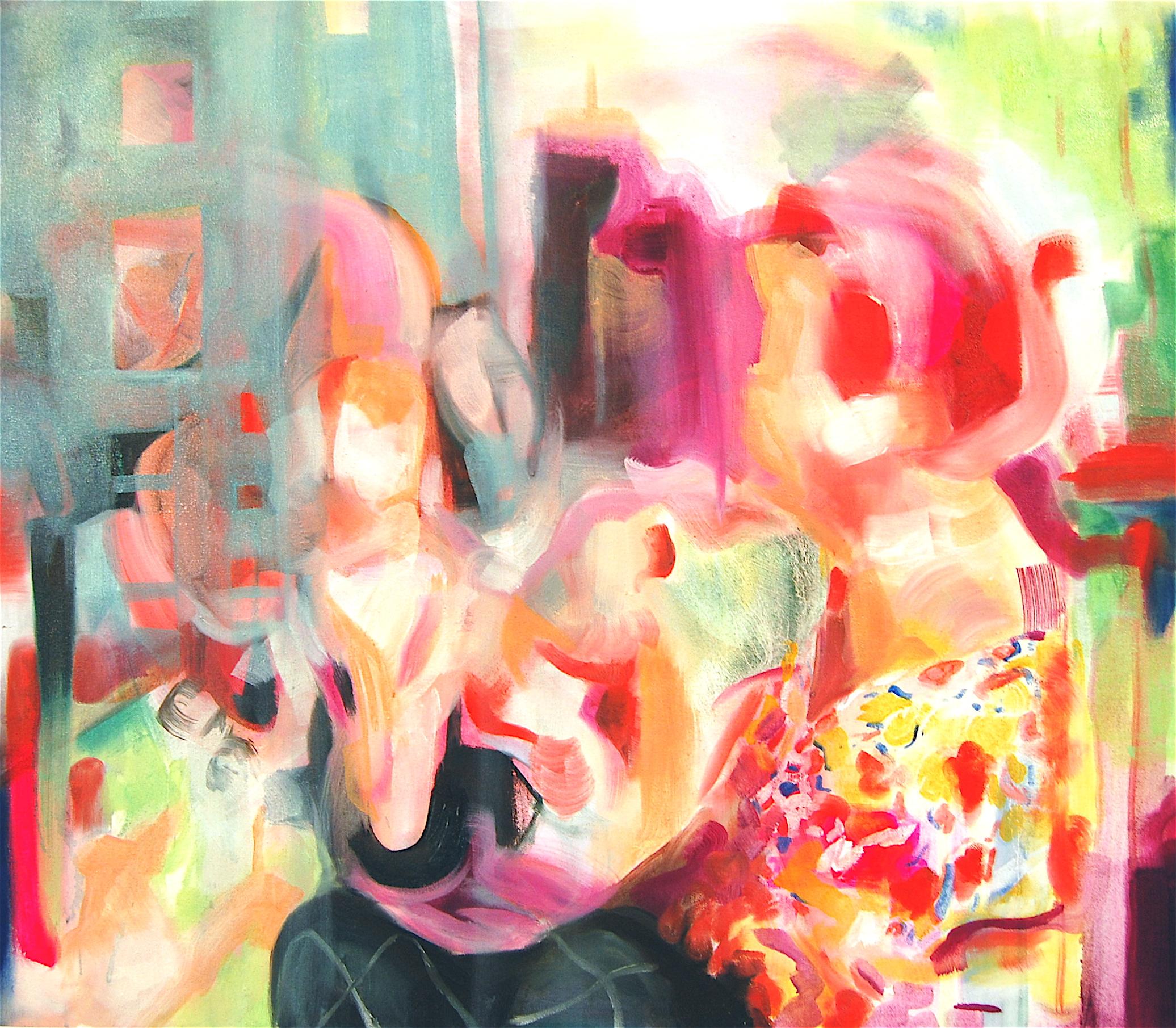 """Hailley, 36"""" x 24"""", Oil on Canvas"""