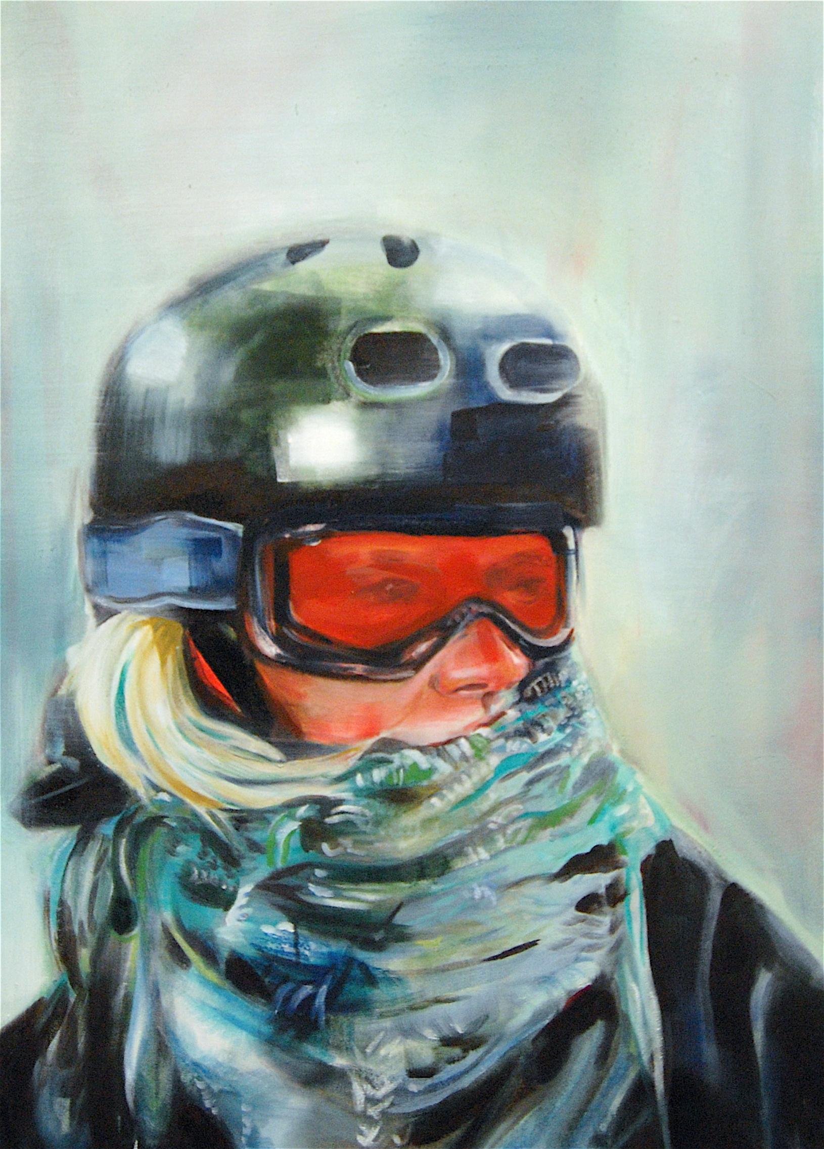 "Elise, 24"" x 42"", Oil on Canvas"