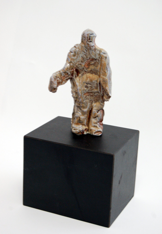 Small Figure (Standing Man), ca1980, Ceramic