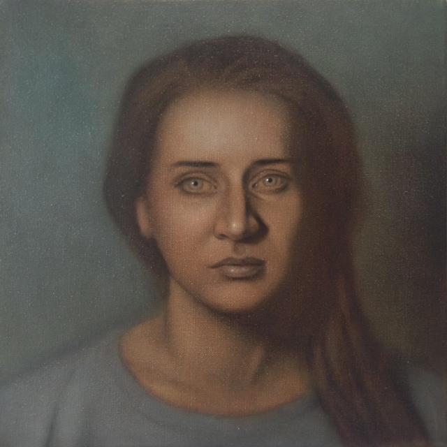 """CW-086, Carla, Oil on Canvas. 12"""" x 12"""", $2,400"""