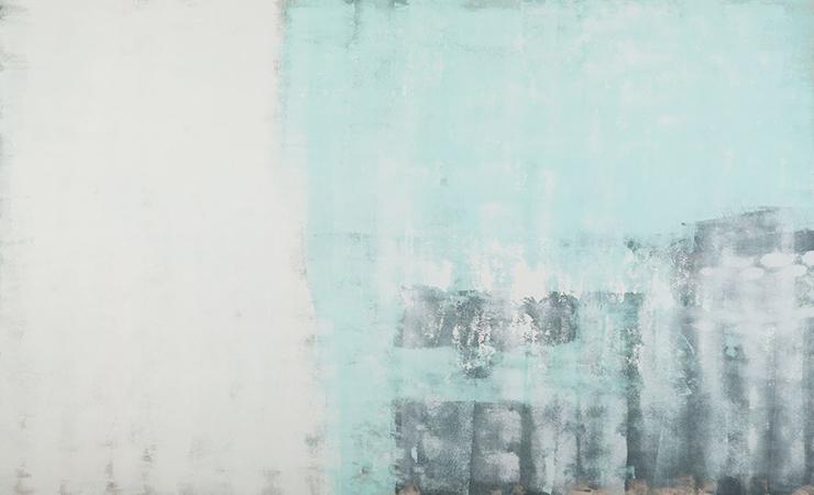 "CW-098, Untitled #1, acrylic on canvas, 108"" x72"", $13,500"