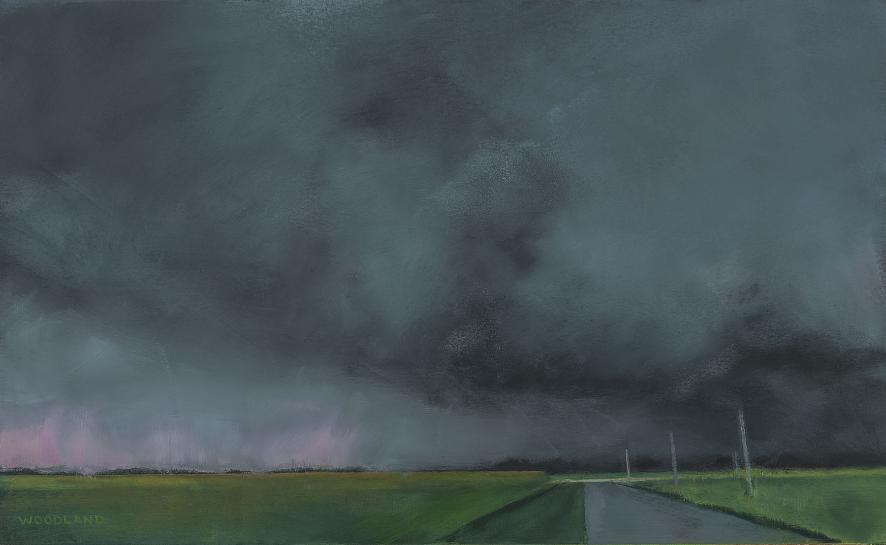 BW-036, Highway 5, oil on artboard, 2012, 18x10.75, 1400.jpg