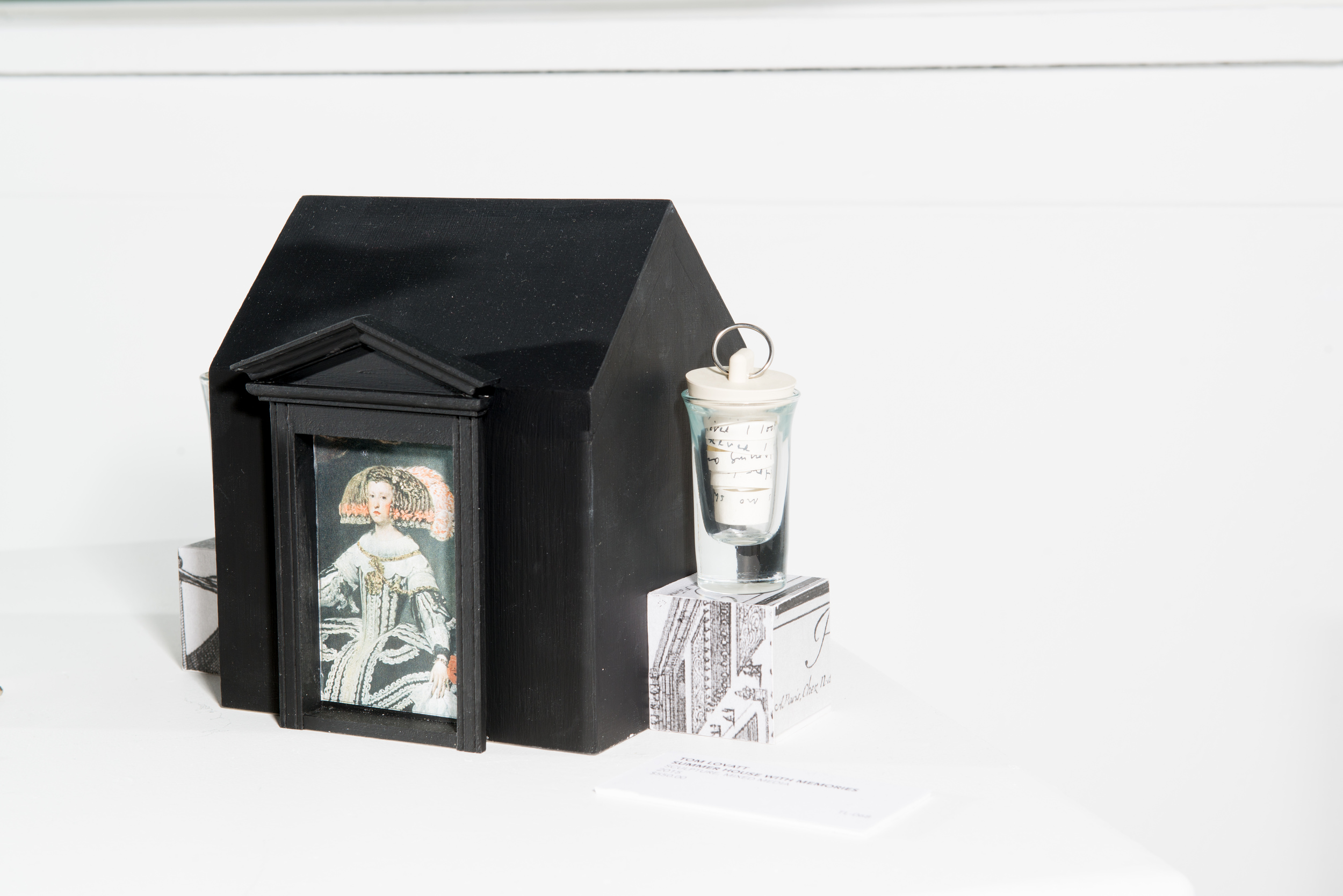 TL-068, Summer House With Memories, Sculpture, Mixed Media, 2015, $550