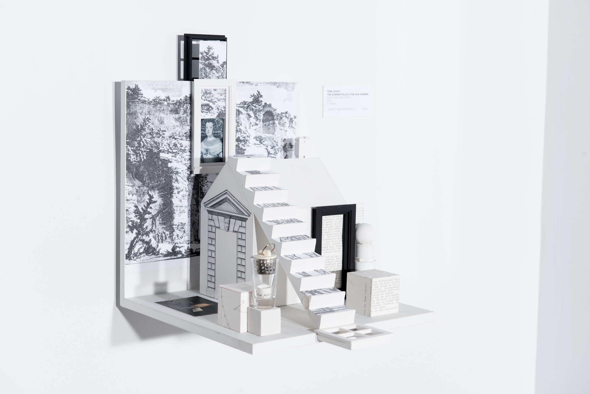 TL-066, The Summer Palace (For Jan Horner), Sculpture, Mixed Media, 2015, $1,250
