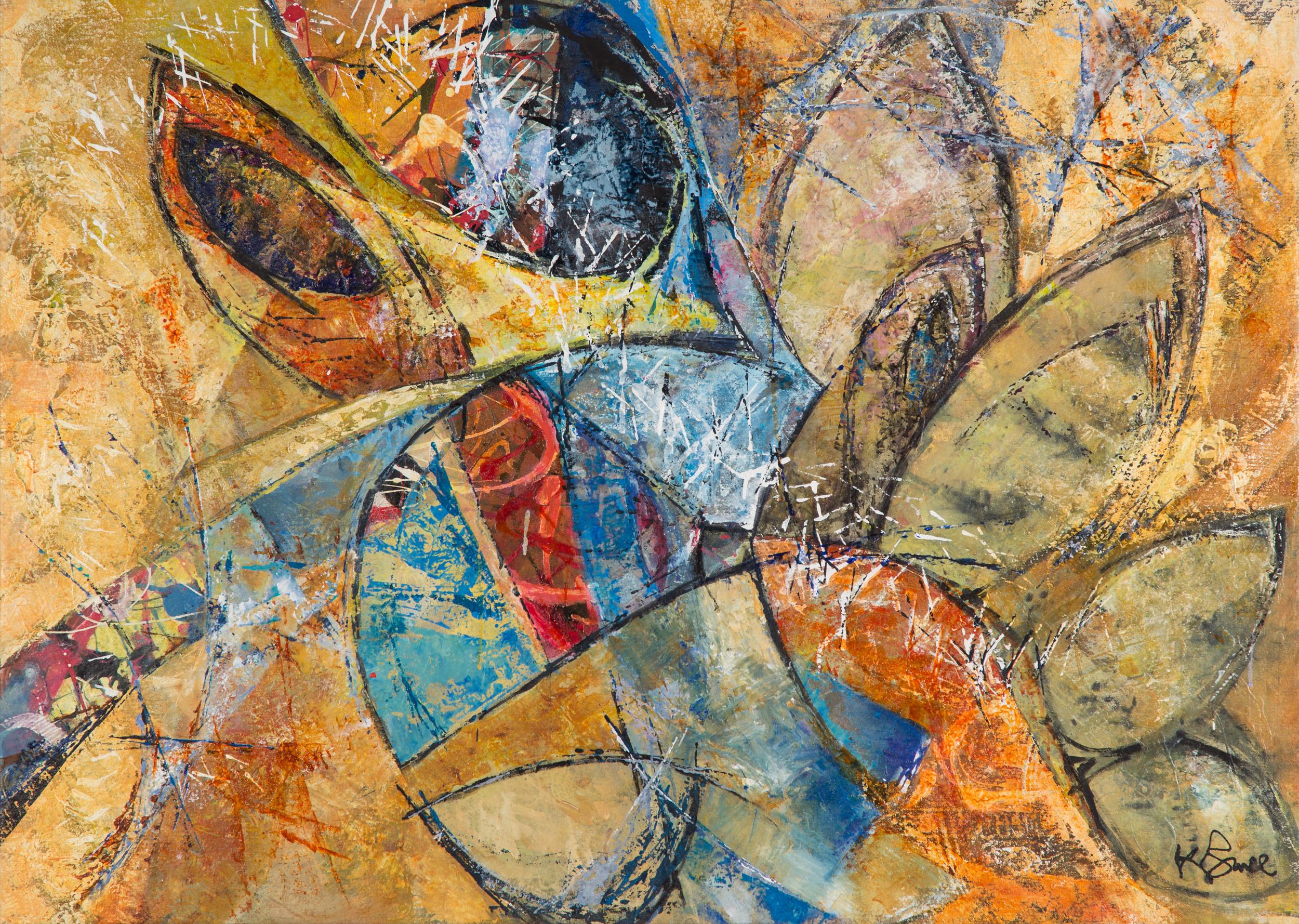 KB-072, Katharine Bruce, Secret Healer, 2014, Acrylic on Canvas, 51 x 36.5, $3,525