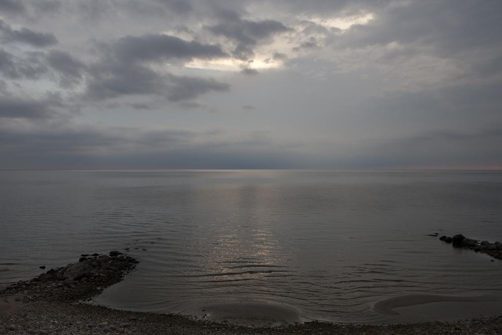WP-027, William Pura, Lake Winnipeg East shoreline Aug 24 2013, $1,500