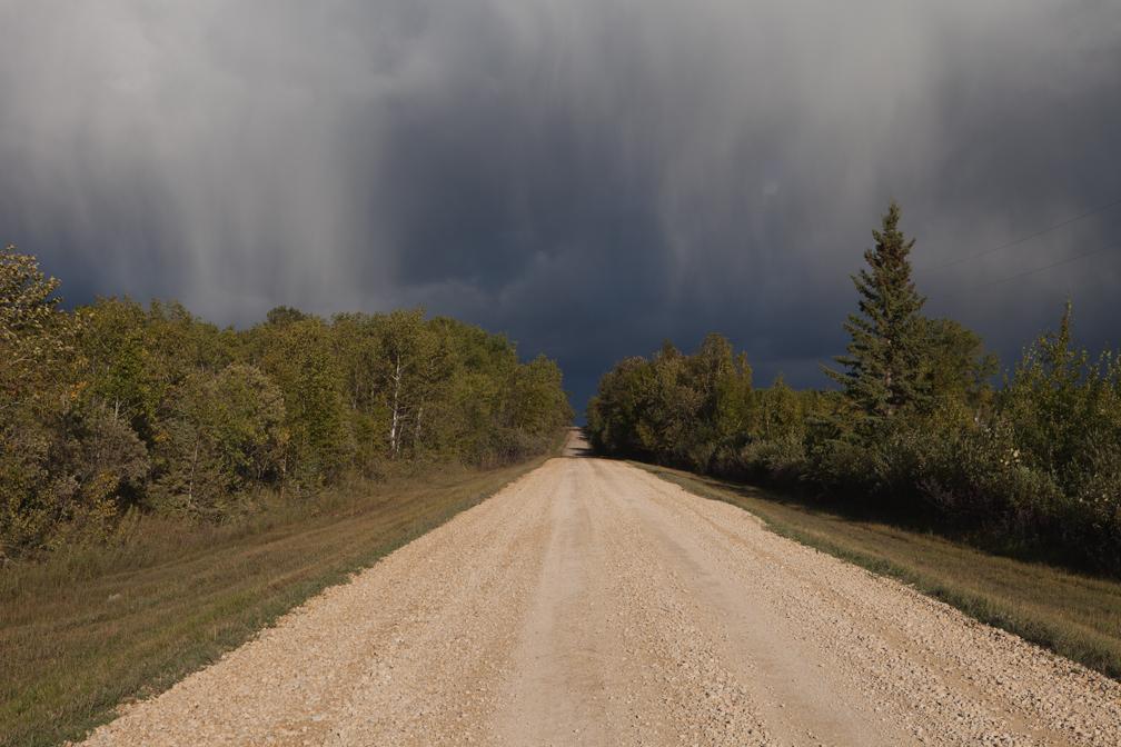 WP-029, William Pura, Lake Winnipeg East side passing storm Sept. 13 2011, $1,500