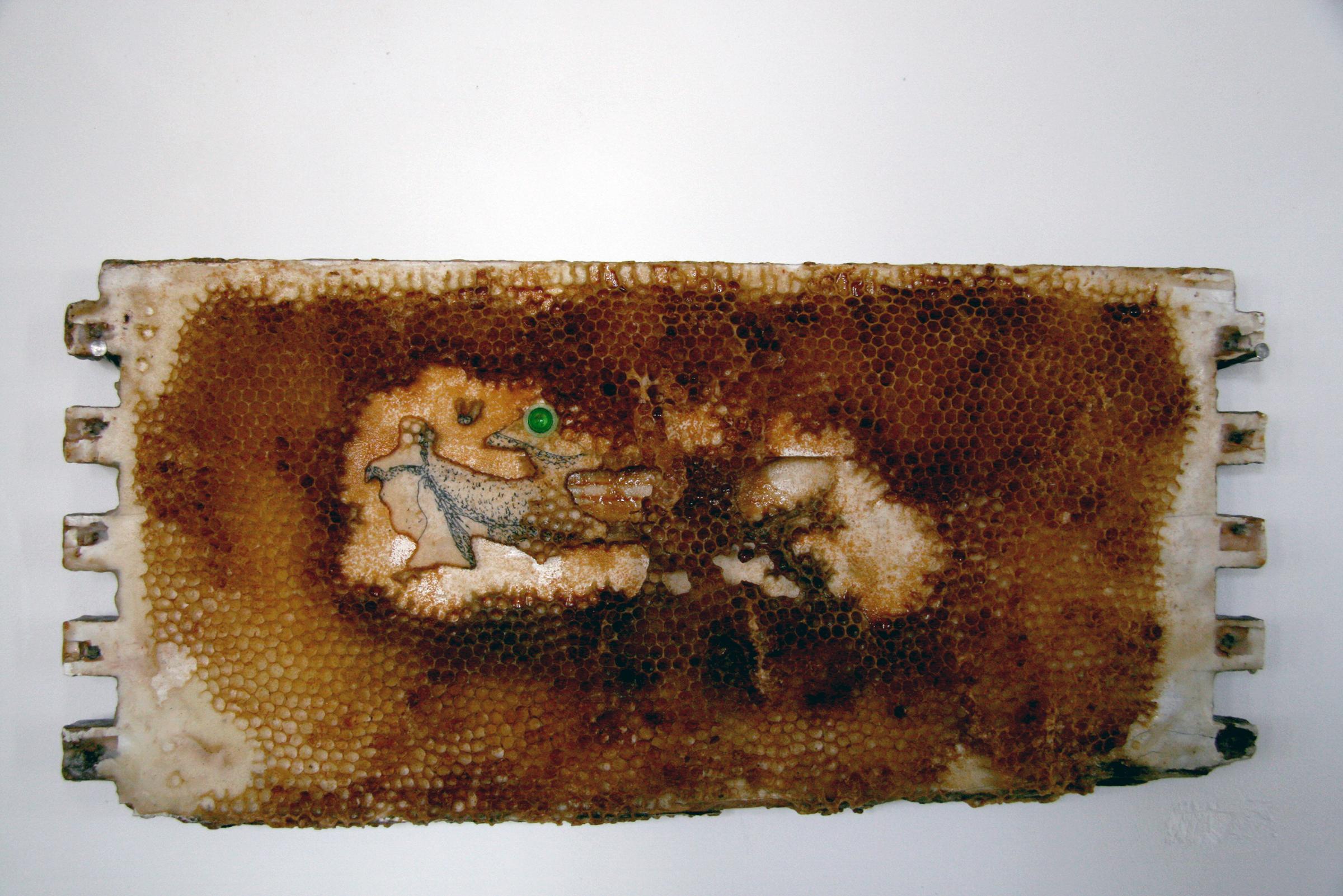 AD-015, Hive Wallpaper #1, $4,500