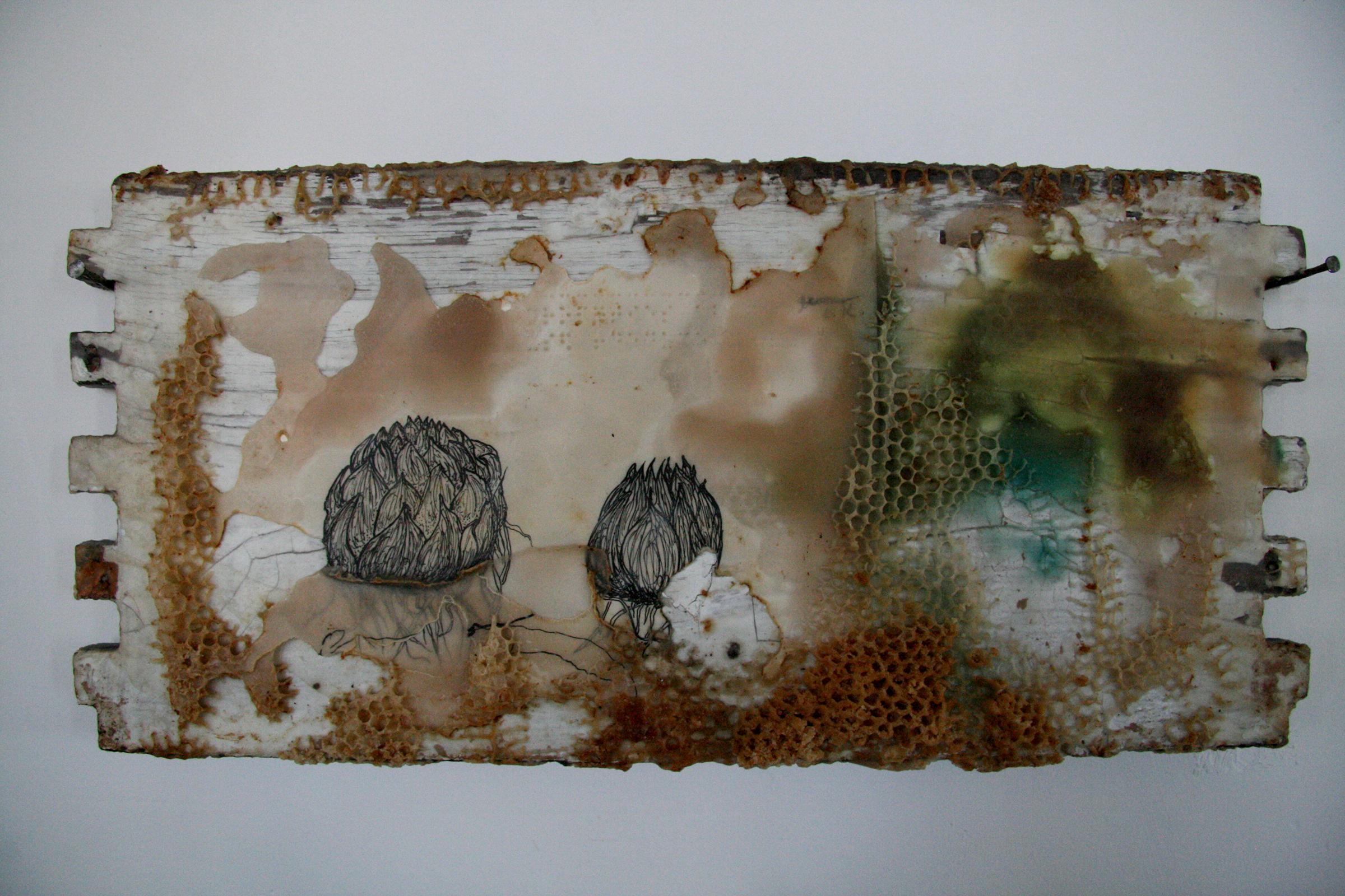 AD-017, Hive Wallpaper #3, $4,500