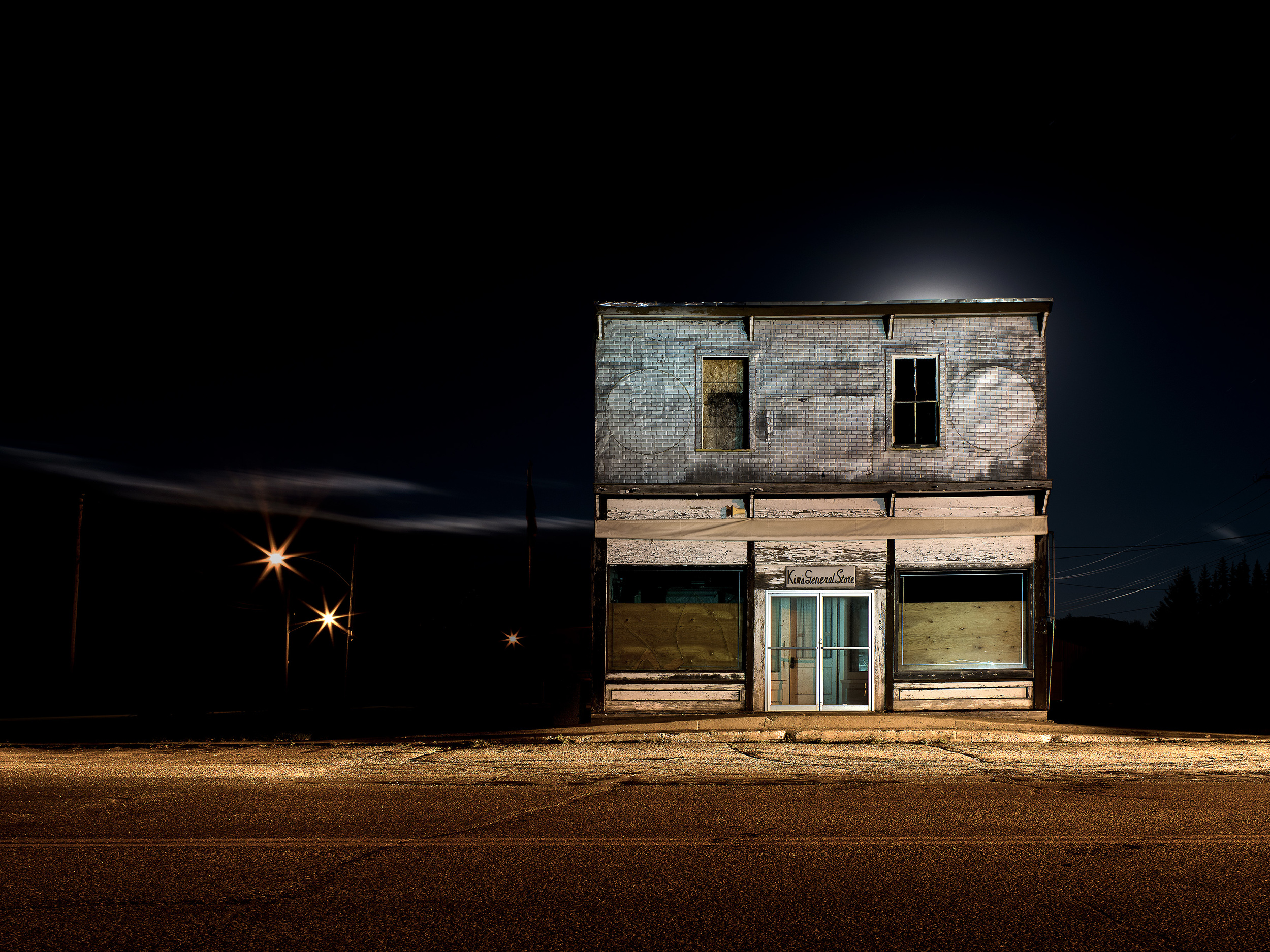 KAB-009, Kevin Boyle, Kim's General Store, Inkjet Photograph on Panel, 36 x48, 2014, $4500